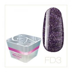 Crystal Nails - Color Gel Full Diamond - FD3 (5ml)