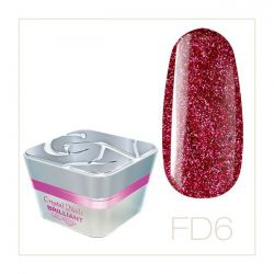 Crystal Nails - Color Gel Full Diamond - FD6 (5ml)