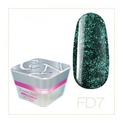 Crystal Nails - Color Gel Full Diamond - FD7 (5ml)