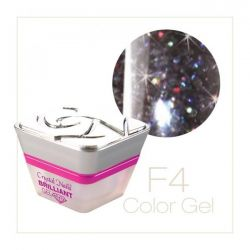 Crystal Nails - Fly Brill Color Gel - F4 (5ml)