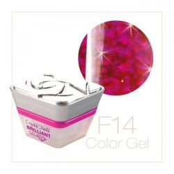 Crystal Nails - Color Gel - Fly Brill - F14 (5ml)