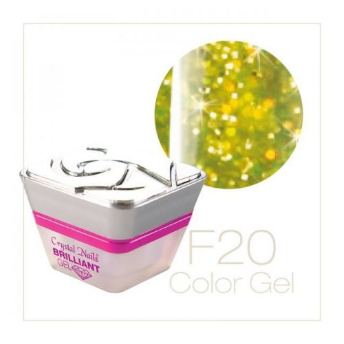 Crystal Nails - Color Gel - Fly Brill - F20 (5ml)