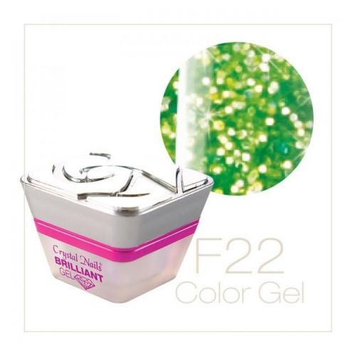 Crystal Nails - Color Gel - Fly Brill - F22 (5ml)