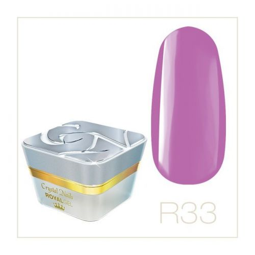 Crystal Nails - Royal Gel - R33 (4,5ml)