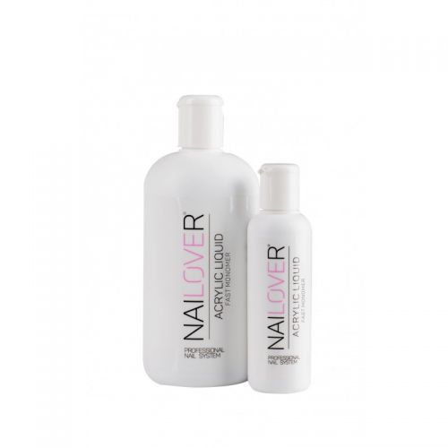 Nailover - Monomer Ultra-Rapid - Lichid pentru Acryl (500ml)