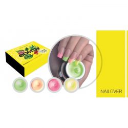 Nailover - Creative Builder Color Gel Kit - Energy