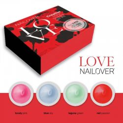 Nailover - Creative Buider Color Gel Kit - Love