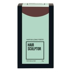 Hair Sculptor - Hair Building Fibers – Dark Brown (25g)