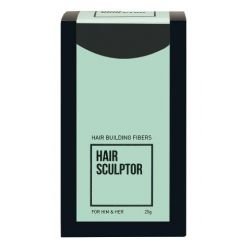 Hair Sculptor - Hair Building Fibers – Black (25g)