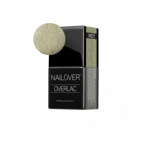 Nailover - Overlac Color Gel Metal - M01 (15ml)