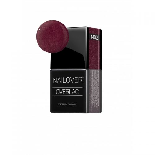 Nailover - Overlac Color Gel Metal - M02 (15ml)