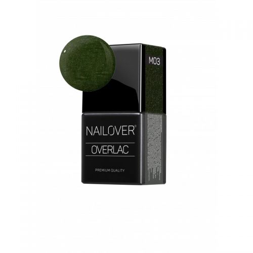 Nailover - Overlac Color Gel Metal - M03 (8ml)