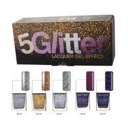 Nailover - 5 Glitter - Kit Oja cu Efect de Gel (15ml)