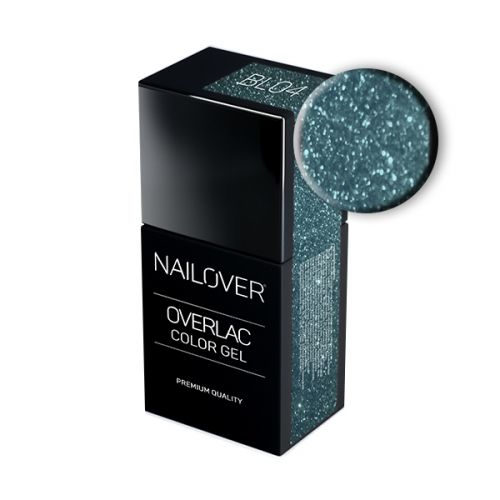 Nailover - Overlac Color Gel - BL04 (15ml)