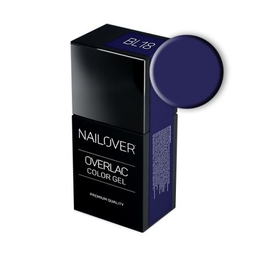 Nailover - Overlac Color Gel - BL18 (15ml)