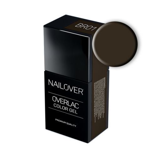 Nailover - Overlac Color Gel - BR01 (15ml)