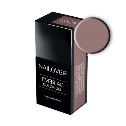 Nailover - Overlac Color Gel - BR04 (15ml)