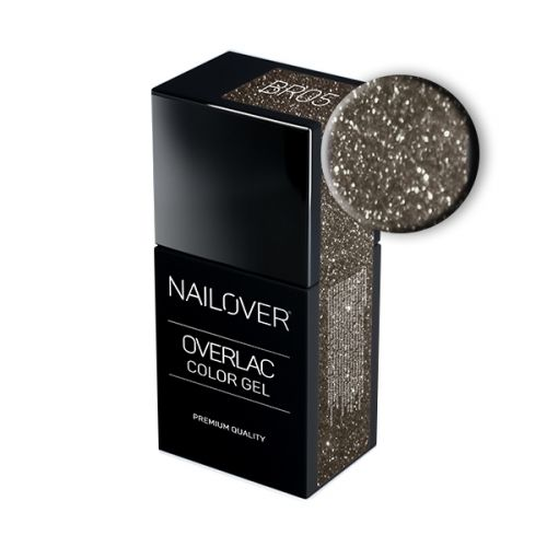 Nailover - Overlac Color Gel - BR05 (15ml)