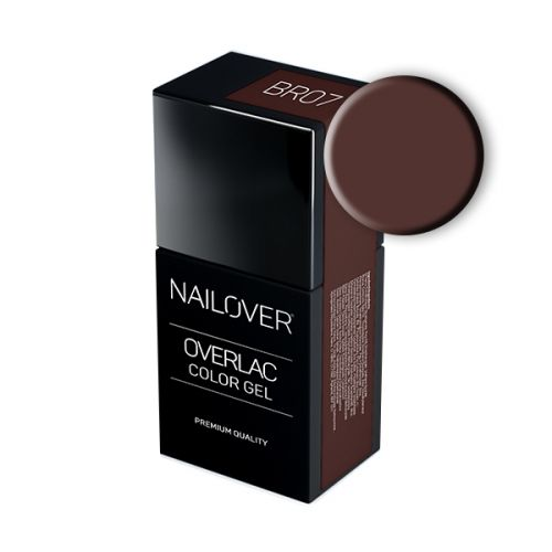 Nailover - Overlac Color Gel - BR07 (15ml)