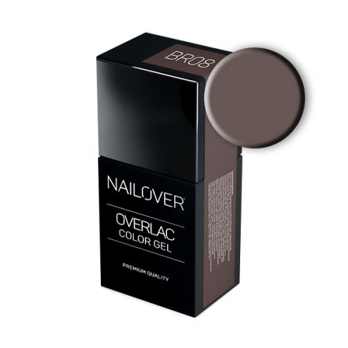 Nailover - Overlac Color Gel - BR08 (15ml)