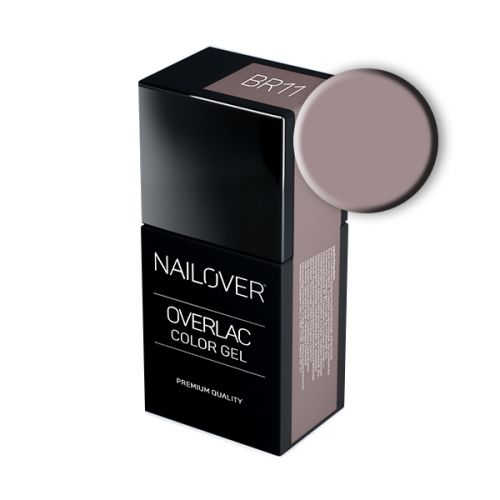 Nailover - Overlac Color Gel - BR11 (15ml)