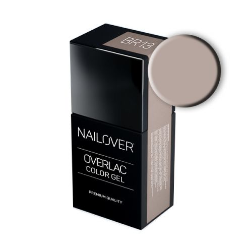 Nailover - Overlac Color Gel - BR13 (15ml)