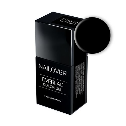 Nailover - Overlac Color Gel - BW01 (15ml)