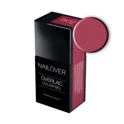 Nailover - Overlac Color Gel - PK12 (15ml)