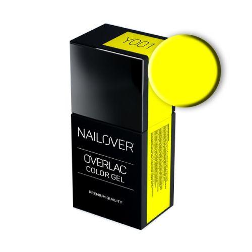 Nailover - Overlac Color Gel - YO01 (15ml)