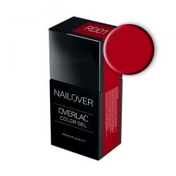Nailover - Overlac Color Gel - RD01 (15ml)