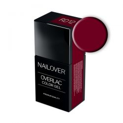 Nailover - Overlac Color Gel - RD12 (15ml)