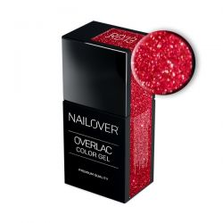 Nailover - Overlac Color Gel - RD13 (15ml)