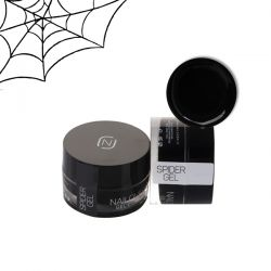 Nailover - Spider Gel Effect - Negru (5ml)