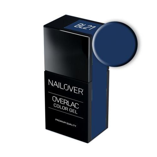 Nailover - Overlac Color Gel - BL21 (15ml)