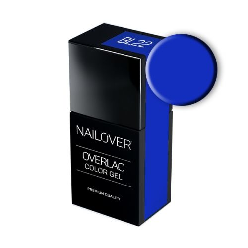 Nailover - Overlac Color Gel - BL22 (15ml)
