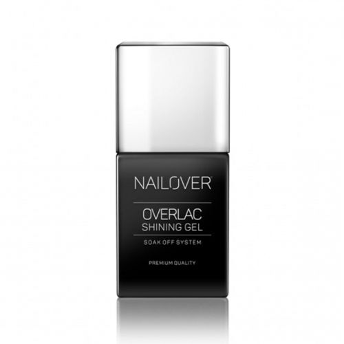 Nailover - Matt Top - Overlac Shining Gel (15ml)