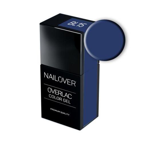 Nailover - Overlac Color Gel - BL15 (15ml)