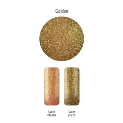 Nailover - Pure Pigments - Sclipici Fin - Golden (2gr)