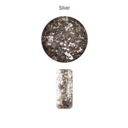 Nailover - Pure Pigments - Maxi Flakes - Silver (2gr)