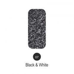 Nailover - Tweed Effect - Black & White - 07