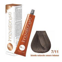BBCOS - Vopsea de păr Innovation EVO (7/11- Biondo Naturale Cenere Intenso)