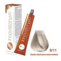 BBCOS - Vopsea de păr Innovation EVO (9/11- Biondo Chiarissimo Cenere Intenso)