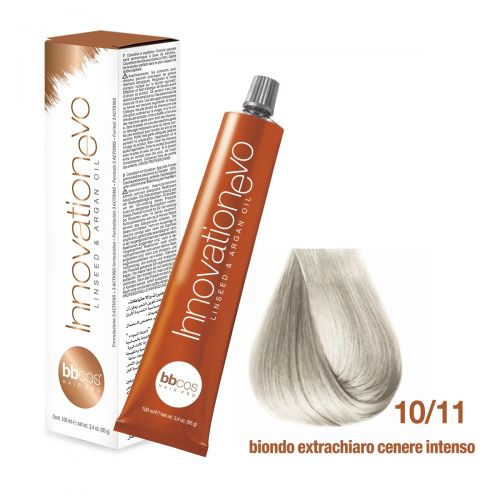 BBCOS - Vopsea de păr Innovation EVO (10/11- Biondo Scuro Cenere Intenso)