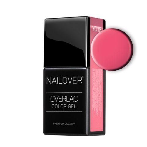 Nailover - Overlac Color Gel - YO18 (15ml)