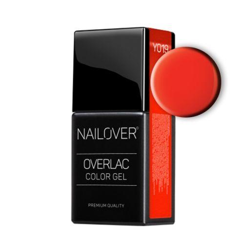 Nailover - Overlac Color Gel - YO19 (15ml)