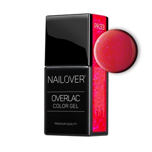 Nailover - Overlac Color Gel - PK33 (15ml)