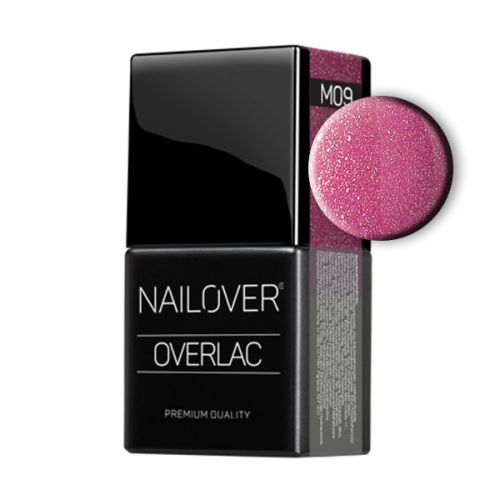 Nailover - Overlac Color Gel Metal - M09 (8ml)