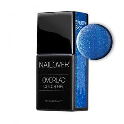 Nailover - Overlac Color Gel - Enjoy Sky (15ml)