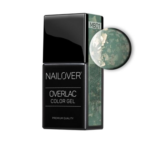 Nailover - Overlac Color Gel - Marble 01 (15ml)