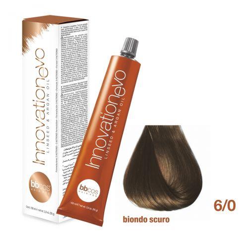 BBCOS- Vopsea de păr Innovation EVO (6/0- Biondo Scuro)